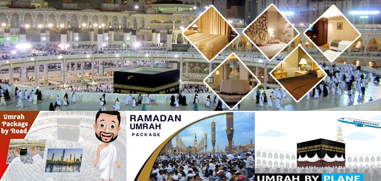 Umrah Packages from Dubai by Air & by BUS
