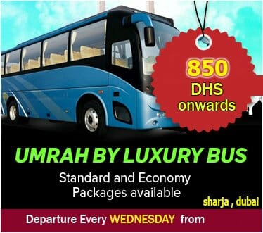cheapest umrah packages from dubai by bus